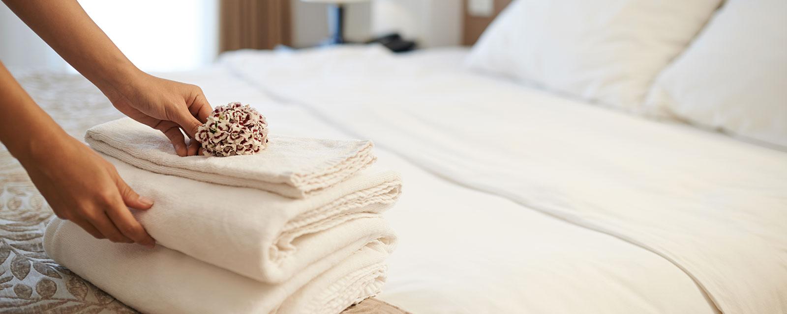 equipos de lavanderia industrial para hoteles